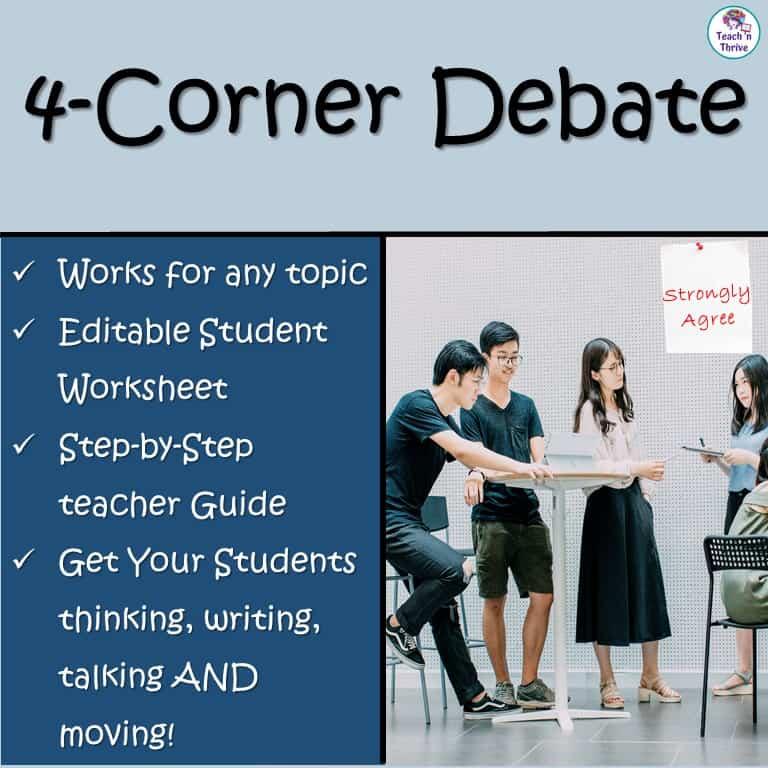 4-corner debate resource cover