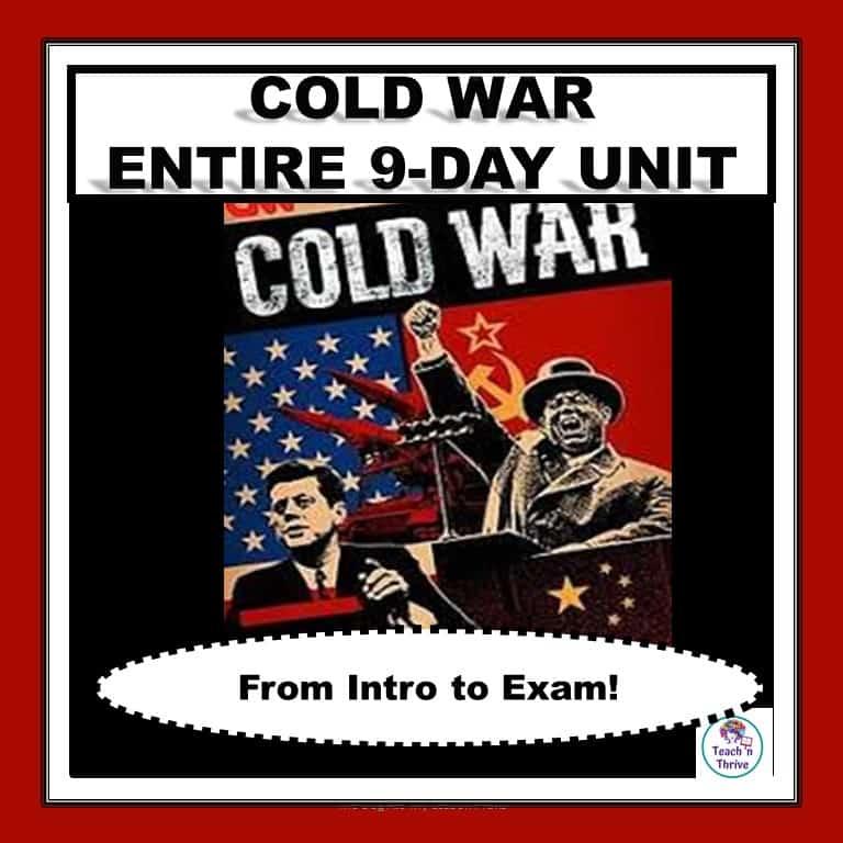 cover COld War Unit