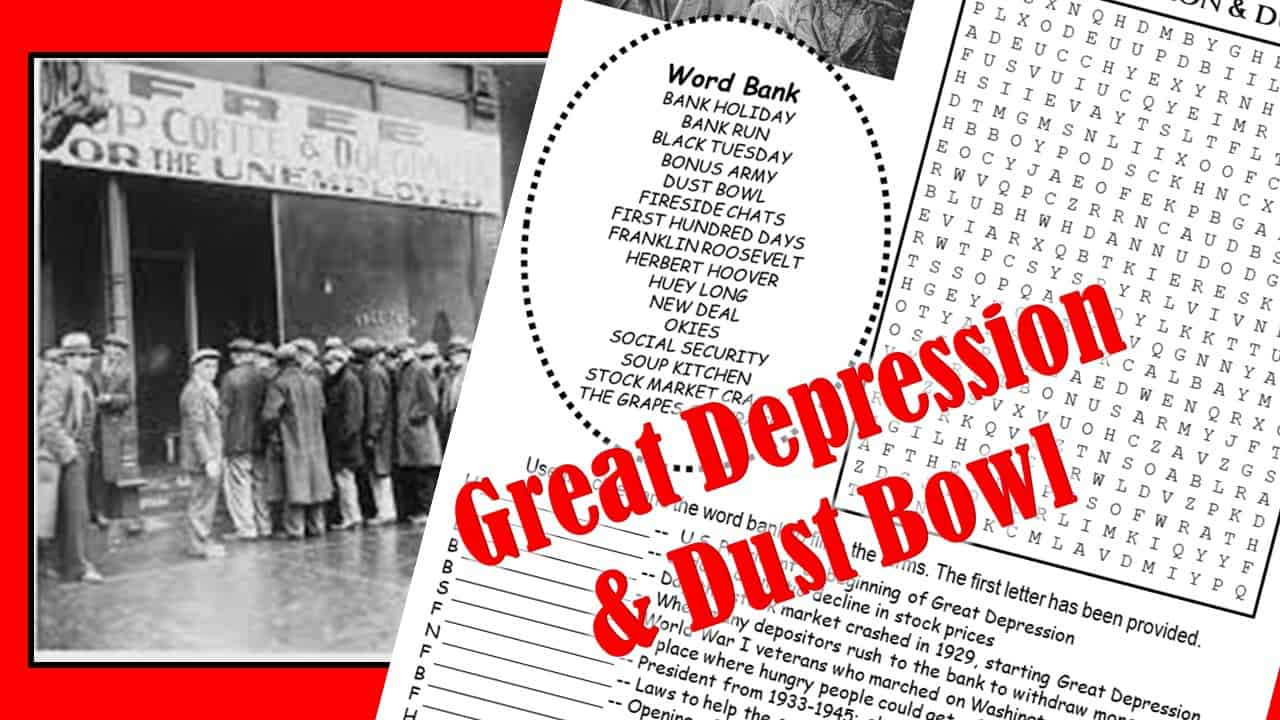 Great Depression REview Puzzle