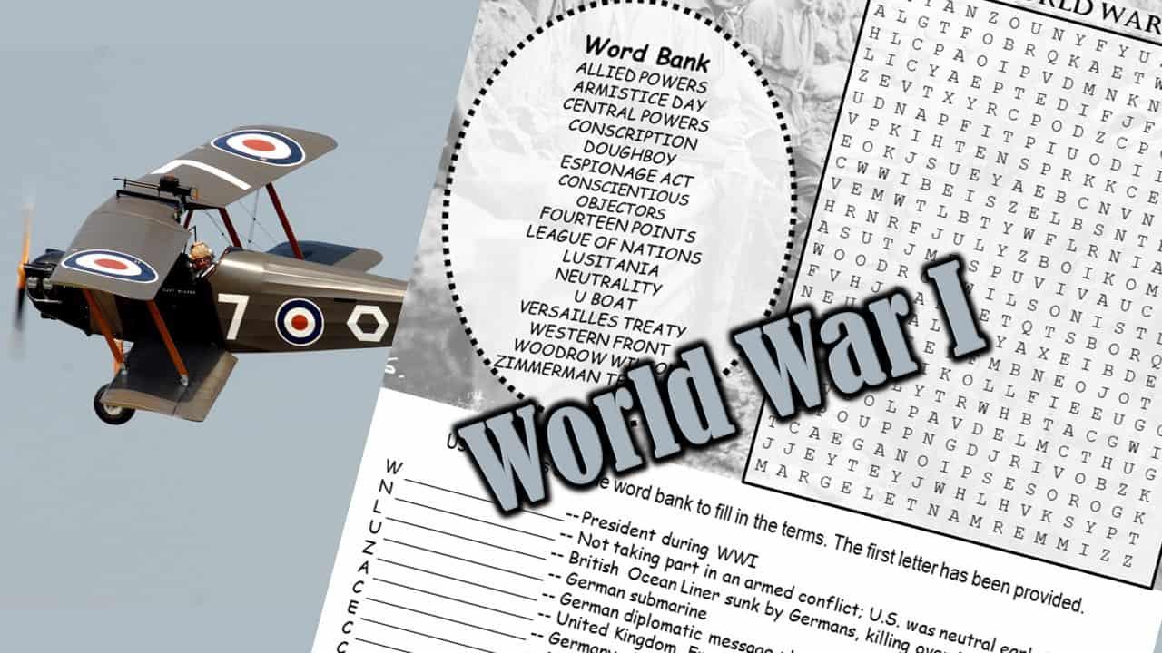 World War I Puzzle