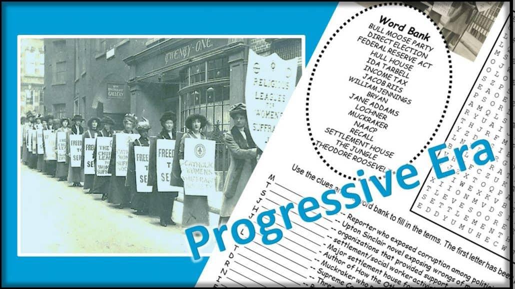 Progressive Era Puzzle