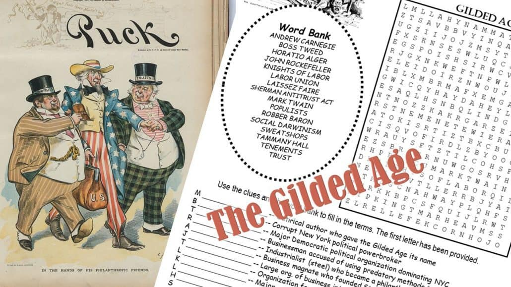 Gilded Age puzzle