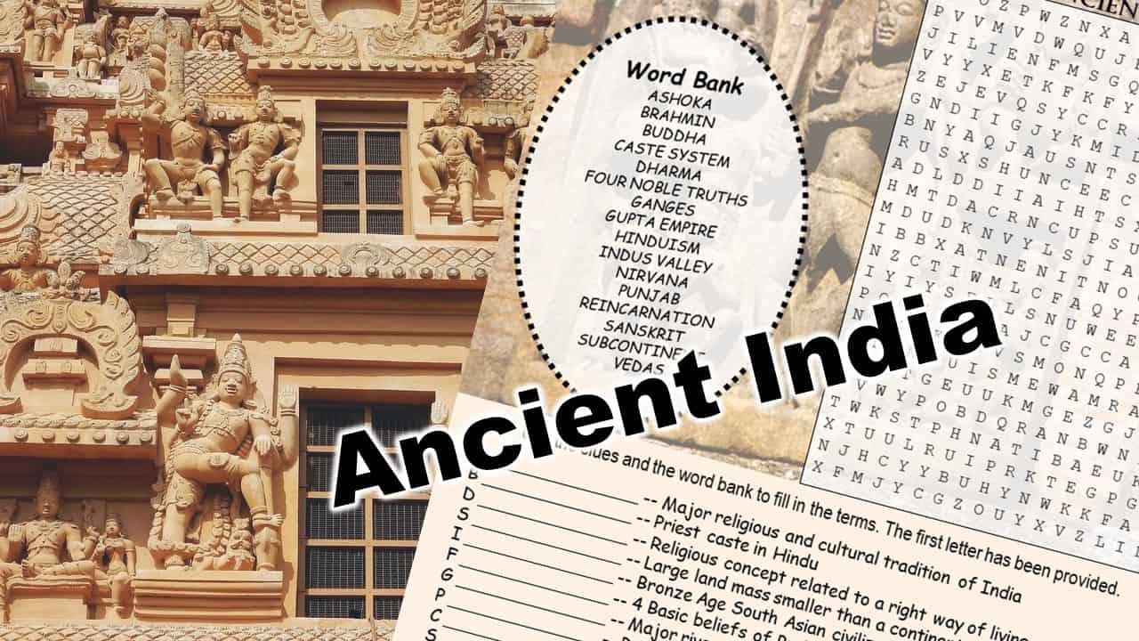 ancient india puzzle