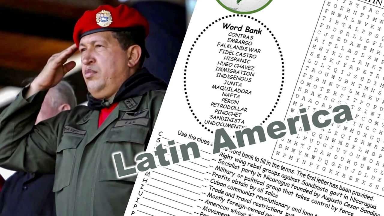 Latin America Puzzle