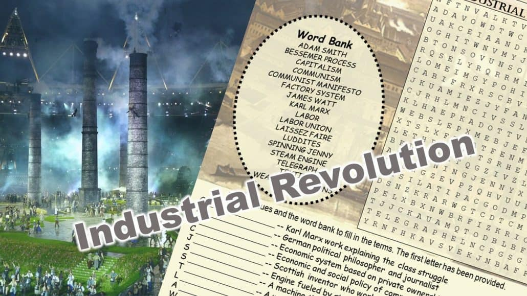 Industrial Revolution Word Puzzle