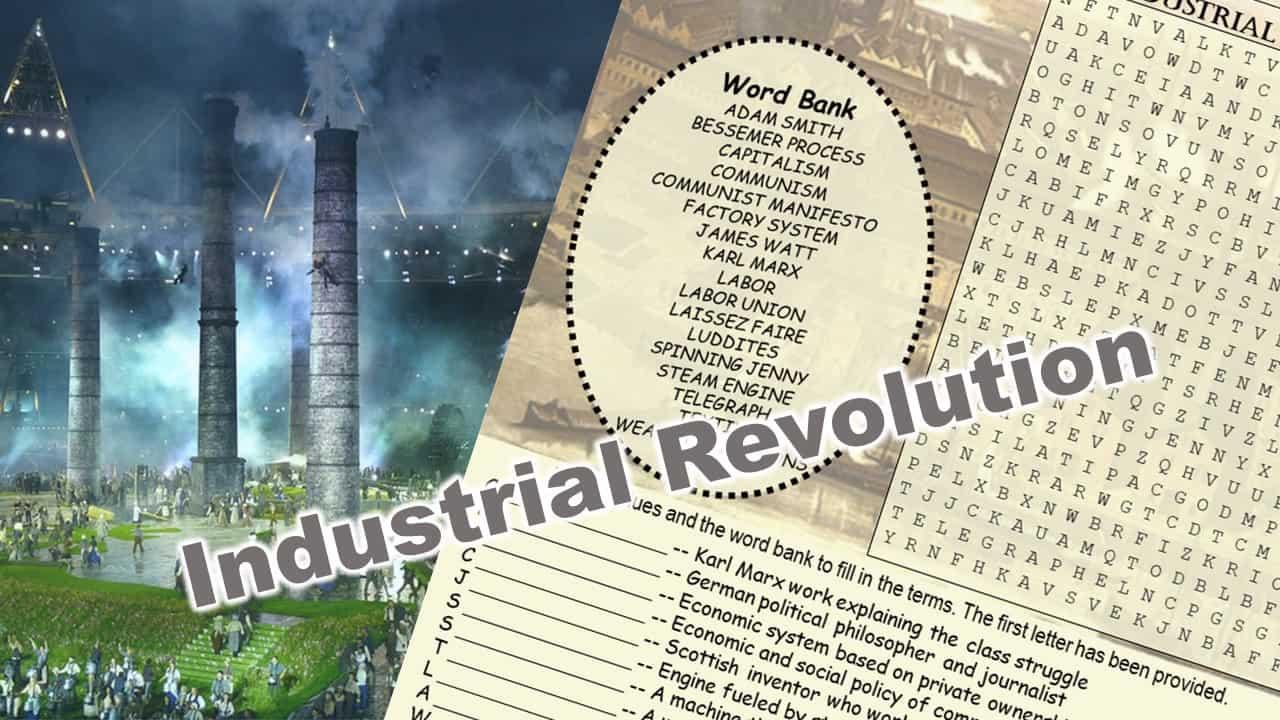 Industrial Revolution Word Puzzle