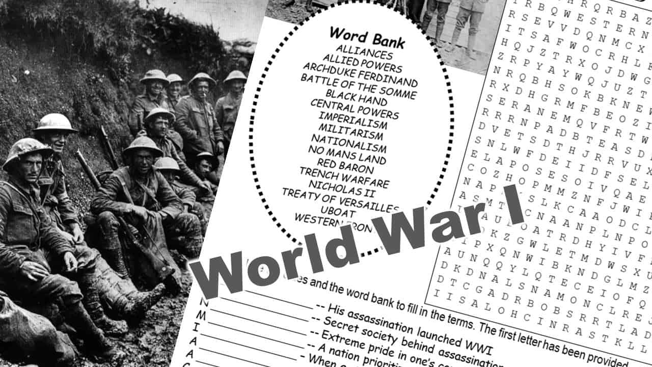 World War 1 Puzzle