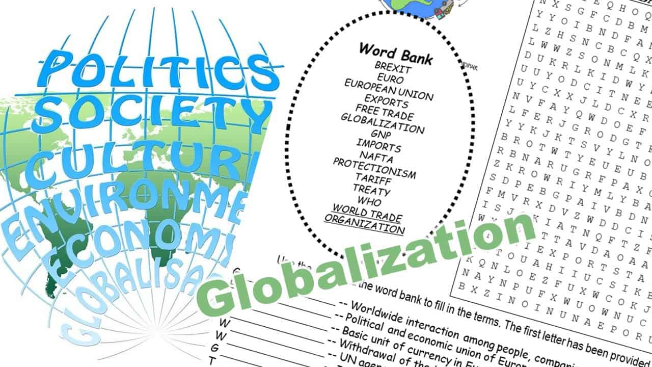 globalization word puzzle