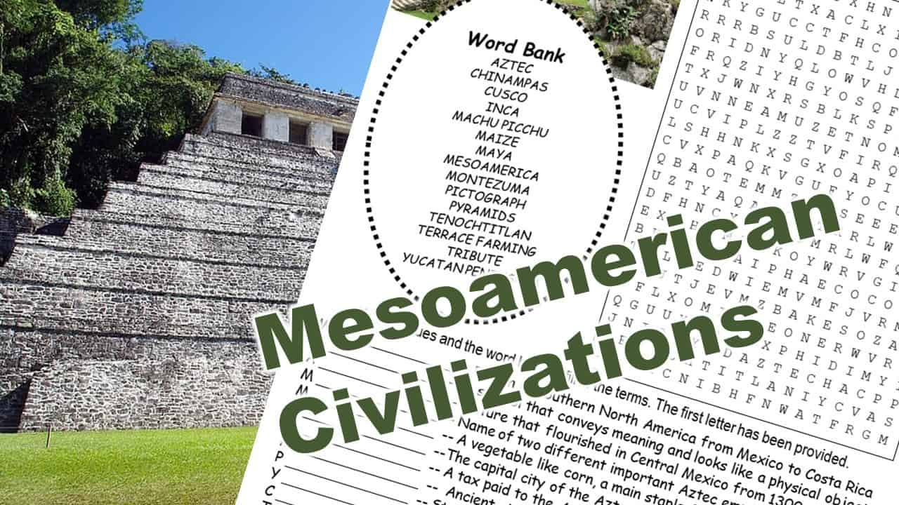 Mesoamerican Civilizations puzzle