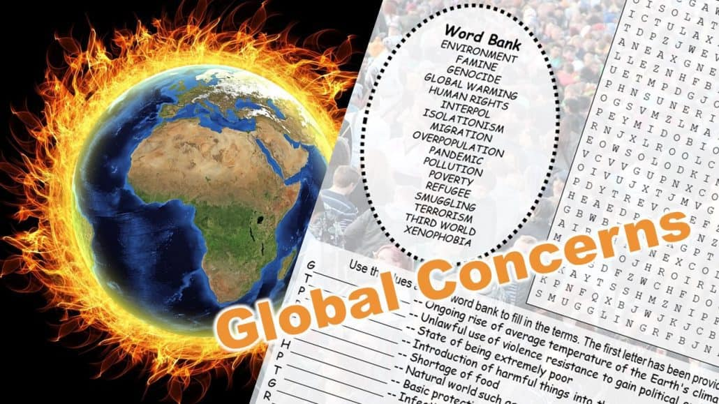 Global concerns puzzle