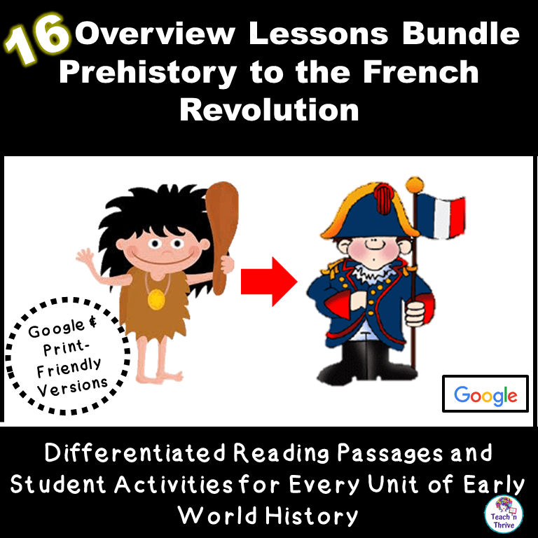 Early World History Bundle