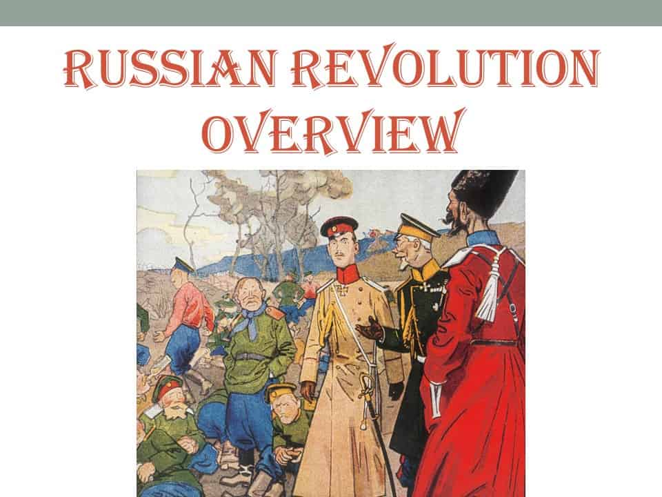 Russian Revolution Overview PointPoint Pic