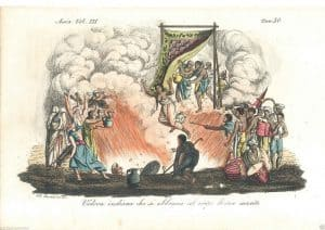 sati funeral pyre