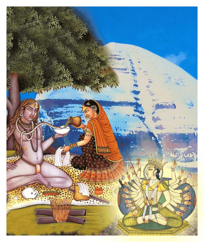 Dieties Shiva and Sati