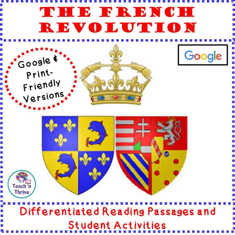 Cover French Rev. Overview Lesson