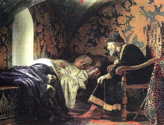 Death of Ivan the Terrible's wife, Anastasia