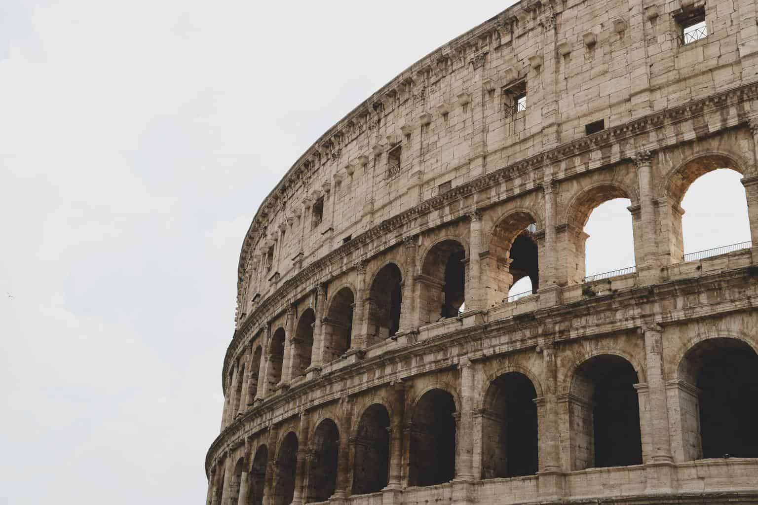 Etruscans Main Roman colliseum