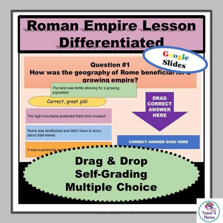 Roman Empire Lesson